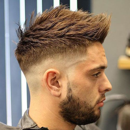 High Fade Quiff Haircut ( Tom Baxter Hair )